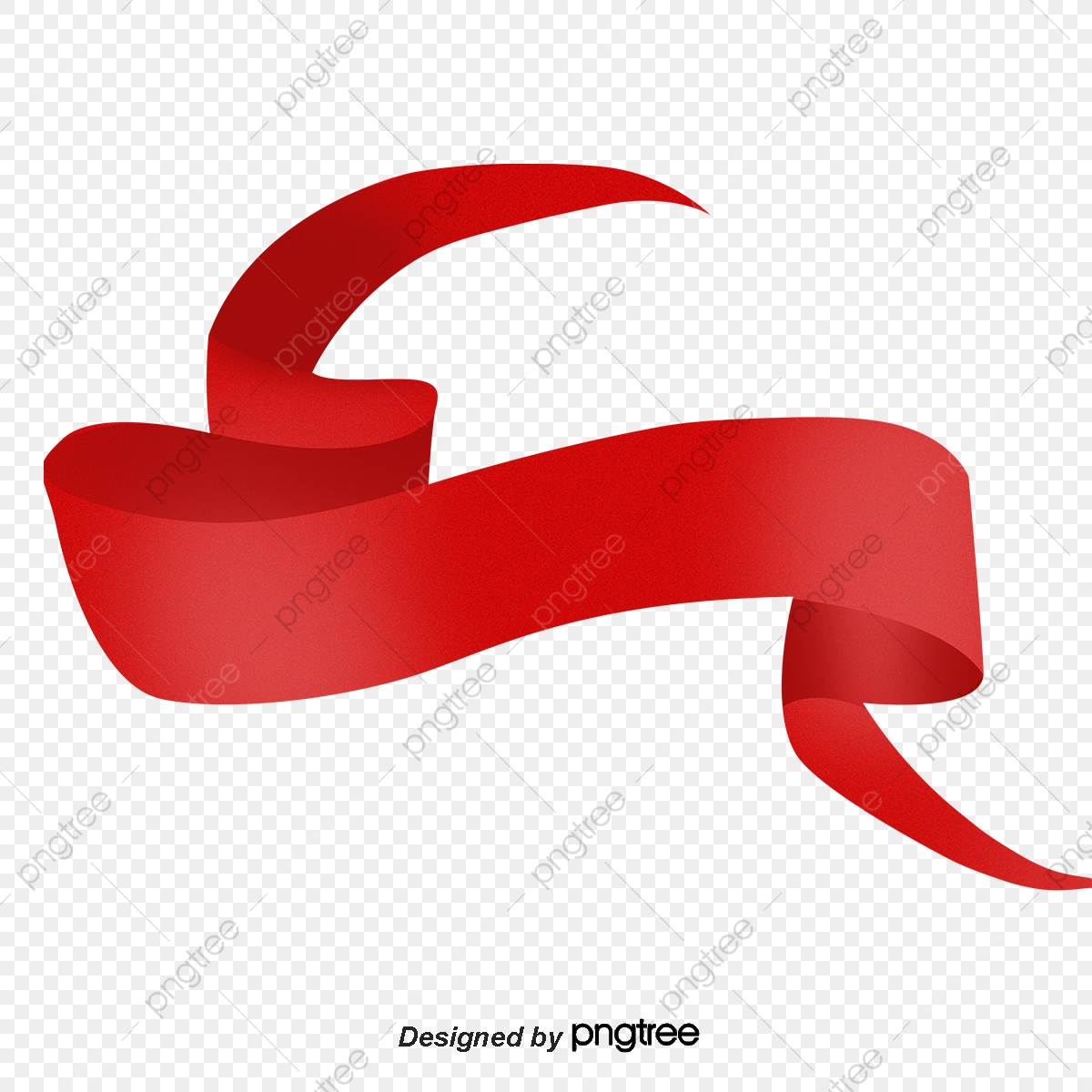 Flowing Ribbons, Red, Ribbon, Art PNG Transparent Clipart Image and.