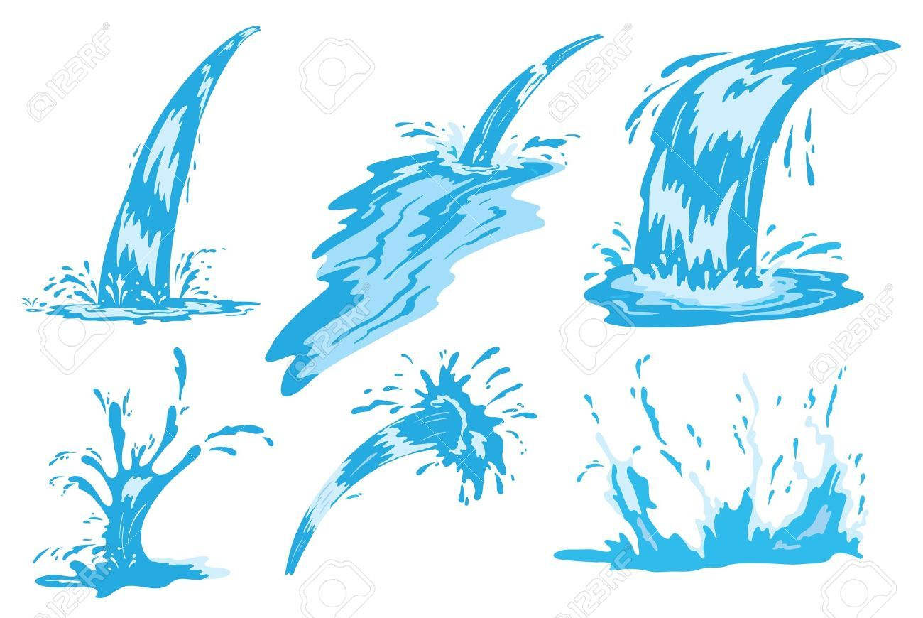 Water flowing clipart 7 » Clipart Portal.