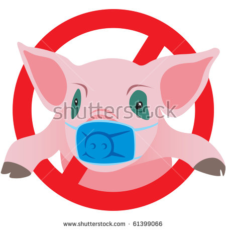 Swine Flu Stock Photos, Royalty.