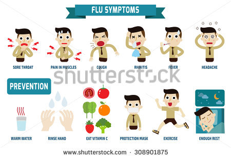 Flu Stock Images, Royalty.