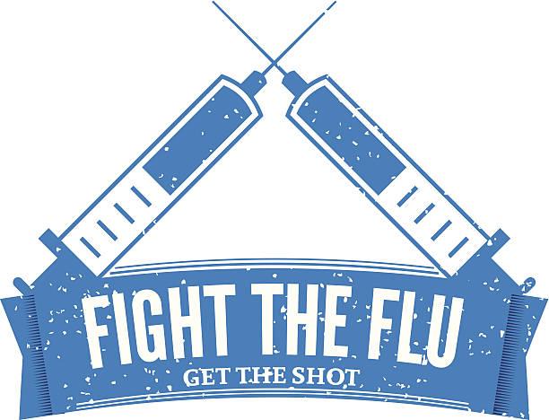 Best Flu Vaccine Illustrations, Royalty.