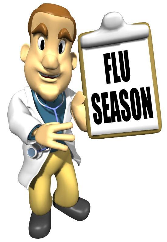 Flu shot clip art.