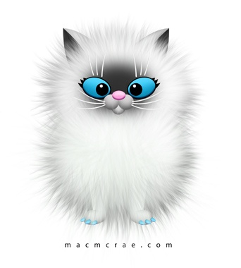 Fluffy clipart.
