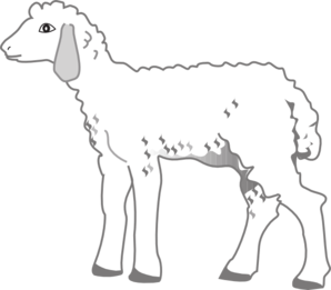 Fluffy Lamb Clip Art at Clker.com.