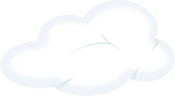 Fluffy clouds clipart - Clipground