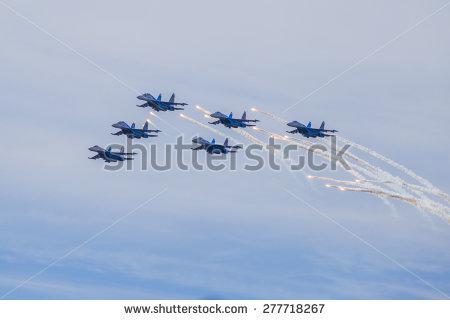 Flugshow Stockfotos und.