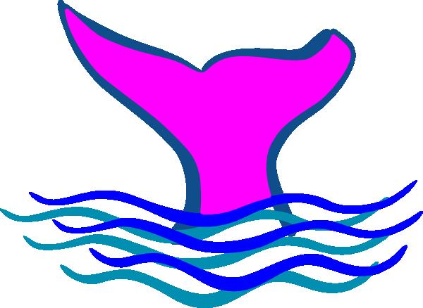 Whale Fluke Clipart.