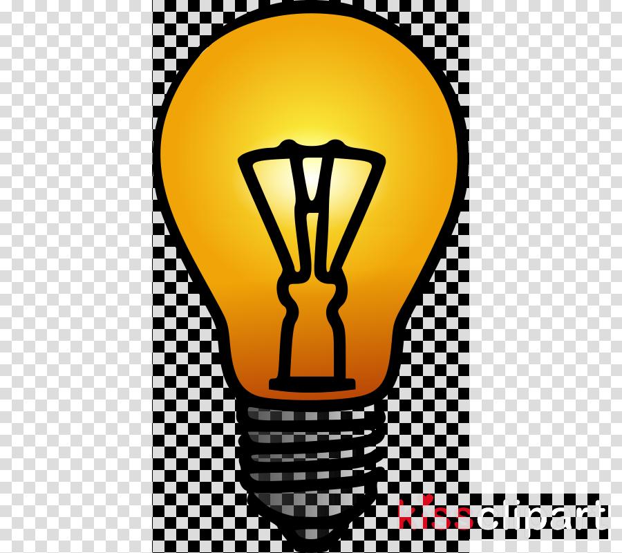 Light Bulb Cartoon clipart.