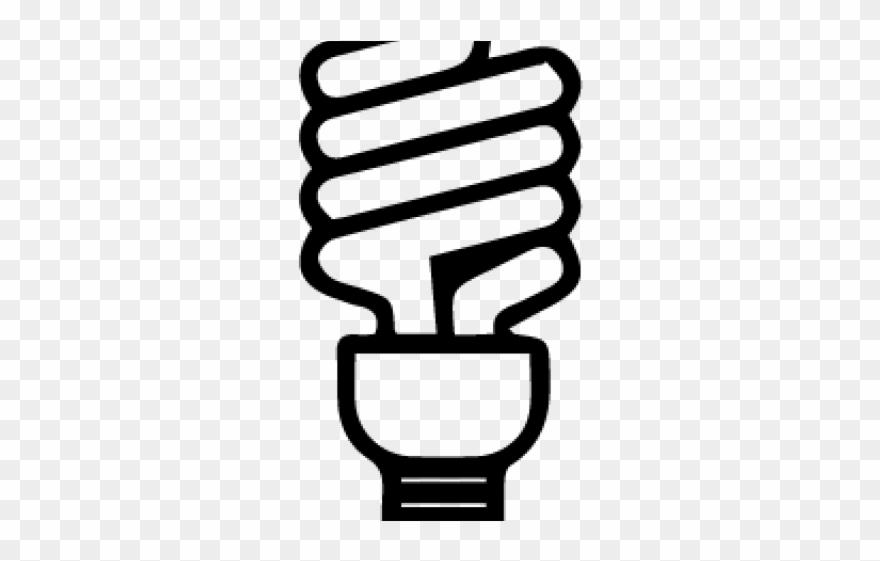 Light Bulb Clipart Compact Fluorescent.