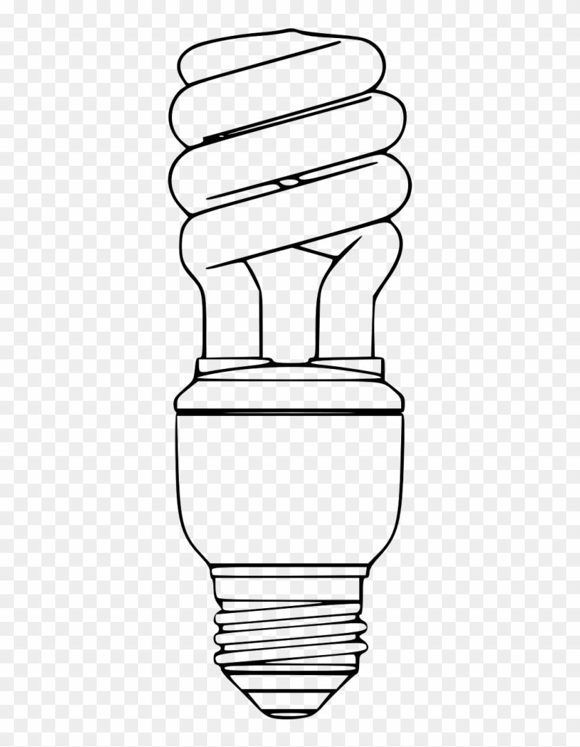 Cfl Light Bulb Clip Art.