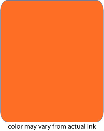 C35018 NPT Fluorescent Orange.