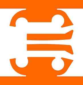 Fluorescent orange clipart #16