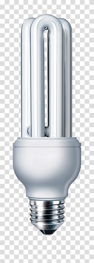 Compact fluorescent lamp transparent background PNG cliparts free.