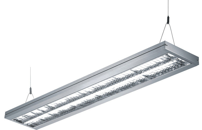 2X35W Suspended Fluorescent Lights 120 Degree For Commercial Lighting.
