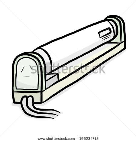 Gallery For > Comic Clipart Fluorescent Tubes.