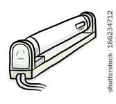 Gallery For > Fluorescent Tube Light Bulb Clipart.