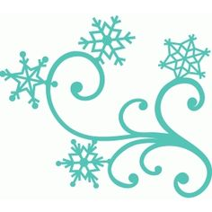 snow flurries clipart.