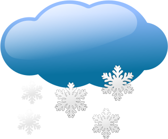 Clipart january snow.