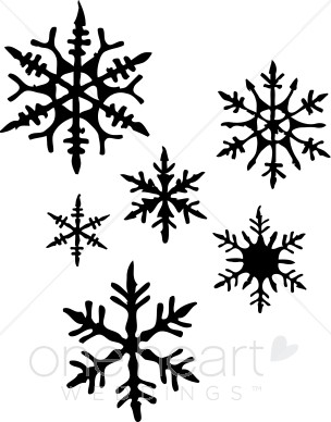 Clipart Snowflakes.