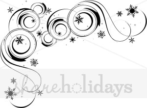 Christmas Snow Flurry Accent.
