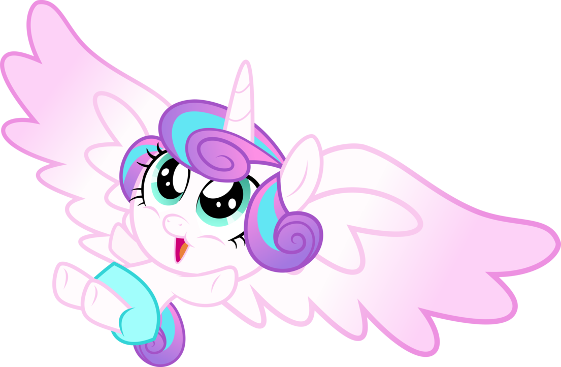 Flurry Heart by xebck on DeviantArt.