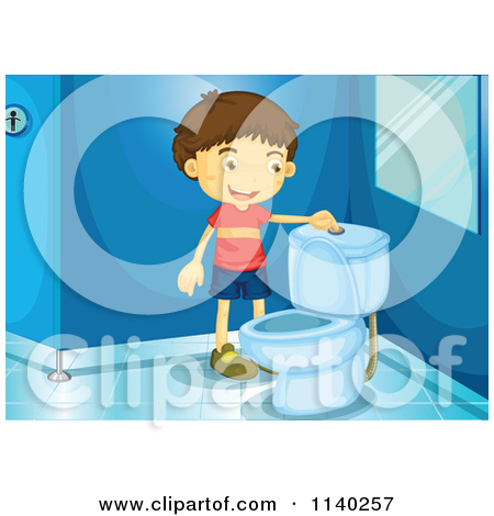 Flushing Toilet Clipart Clipground