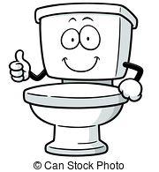 Clipart toilet flush.