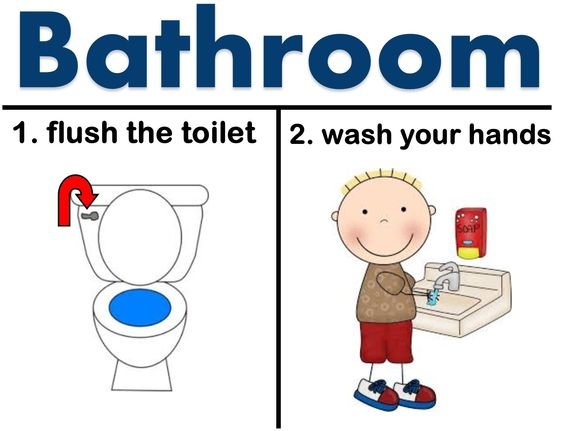 Flush The Toilet Clipart Clipground