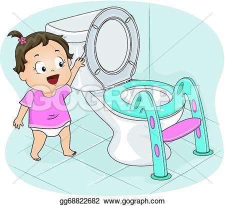 Flushing Clip Art.