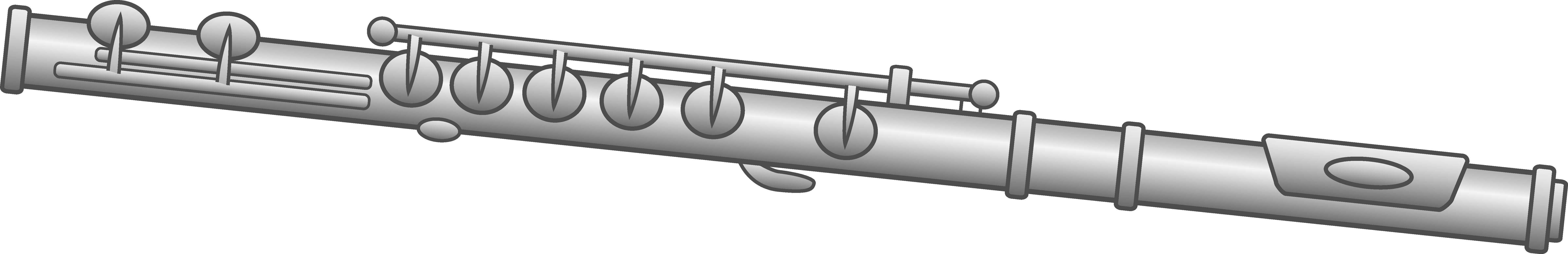 Flute Clipart Design.