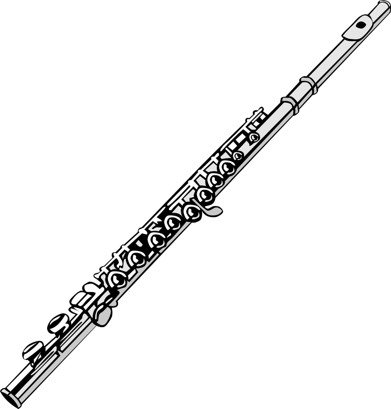 Free Clipart: Flute.