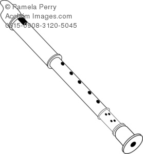 Flute clipart black and white 7 » Clipart Station.