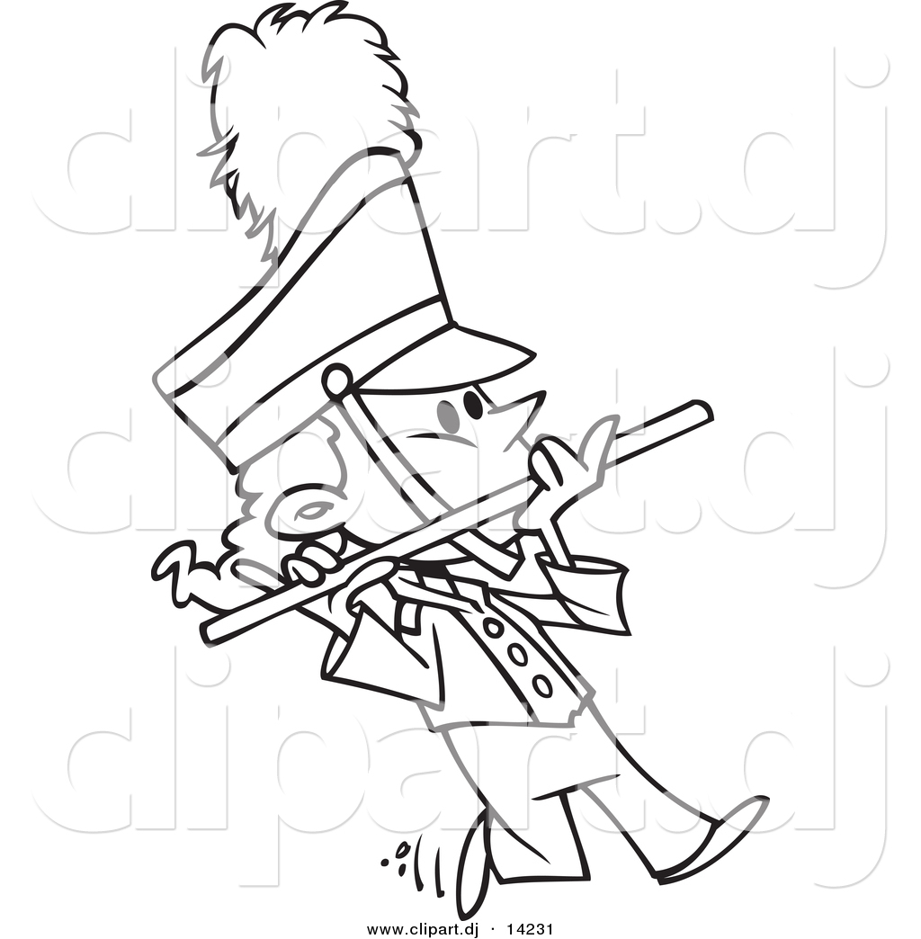 Marching band clipart flute.
