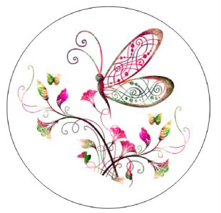 butterlfy whimsical clip art.