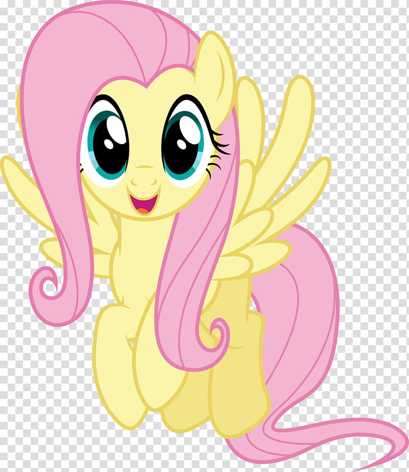 Fluttershy, My Little Pony character art transparent.
