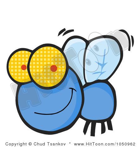 Clip Art Of Small Flies Clipart.