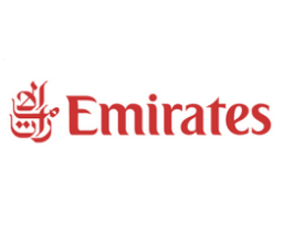 Fly emirates logo.