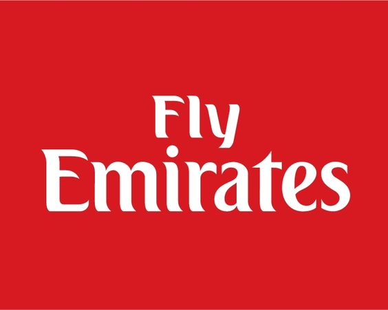 Fly emirates Logos.