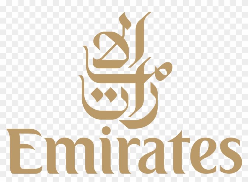 Fly Emirates White Logo Png.