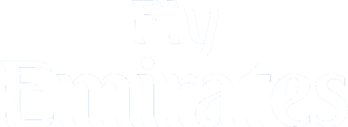 Fly Emirates White Logo Png Vector, Clipart, PSD.