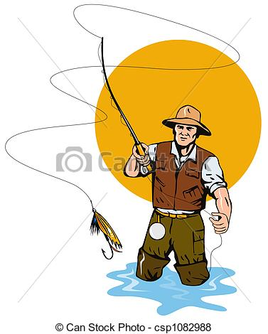 Fly fishing Stock Illustrations. 2,880 Fly fishing clip art images.
