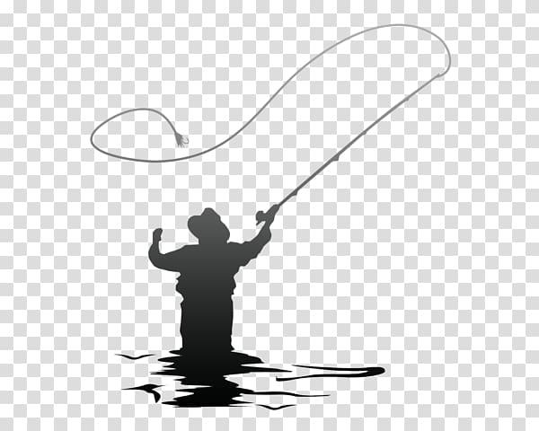 Man holding fishing rod , Fly fishing tackle Fishing Reels.