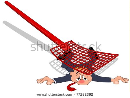 Fly Swatter Stock Photos, Royalty.