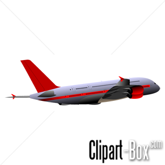 CLIPART AIRBUS A380 FLYING.