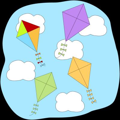 Fly high clipart #17