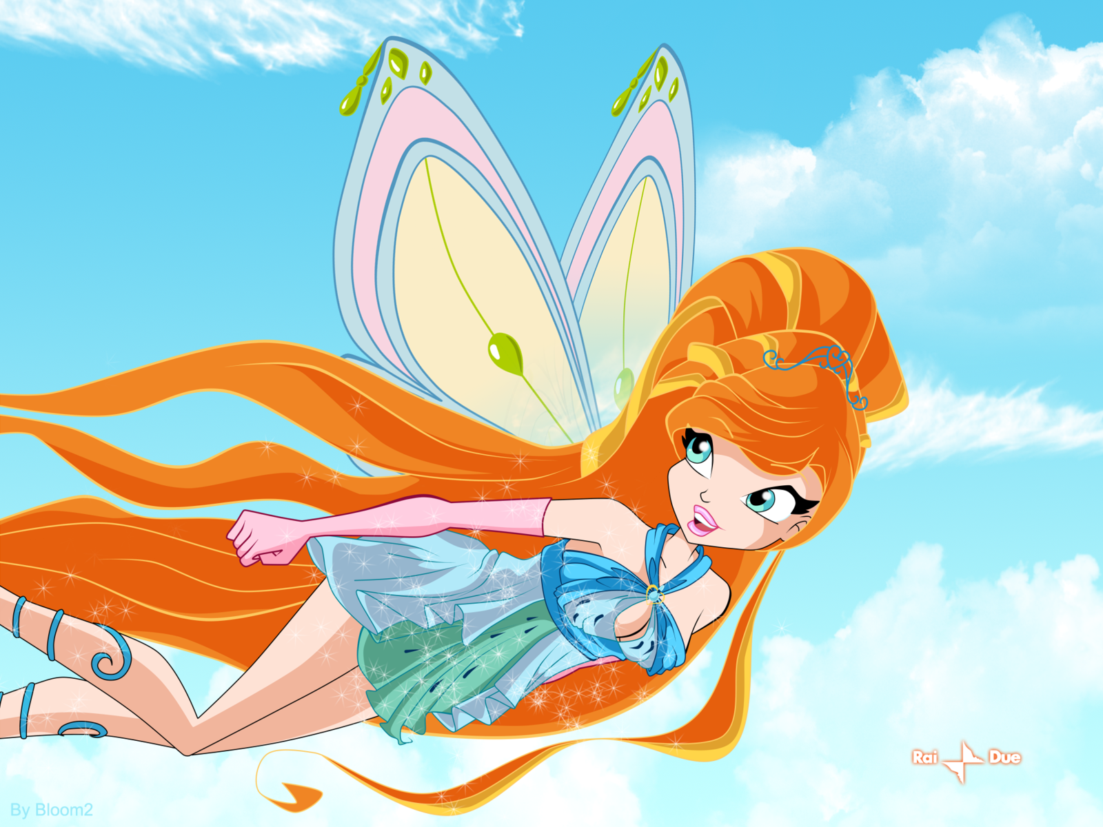 CE: Alice Flying by Bloom2 on DeviantArt.