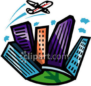 Fly over clipart.