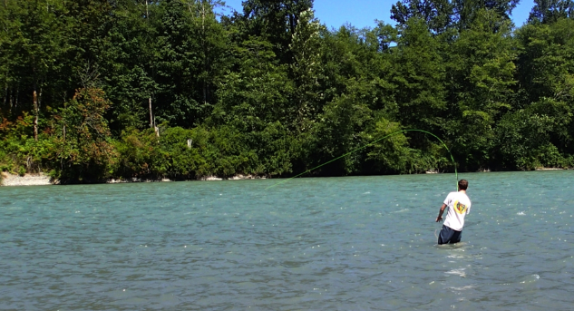 Fly Fishing the Skagit River.