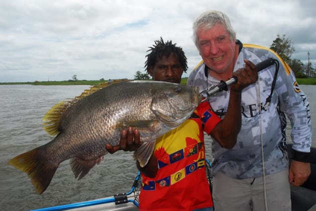 Fly River: PNG sportfishing at its finest.