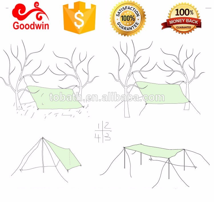 Outdoor Folding Sun Shade Shelter/camping Fly Sheet.